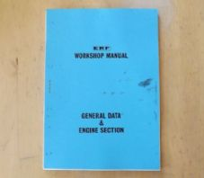 ERF.B series.Maintenance manual.General data and engine section.TSP.98.